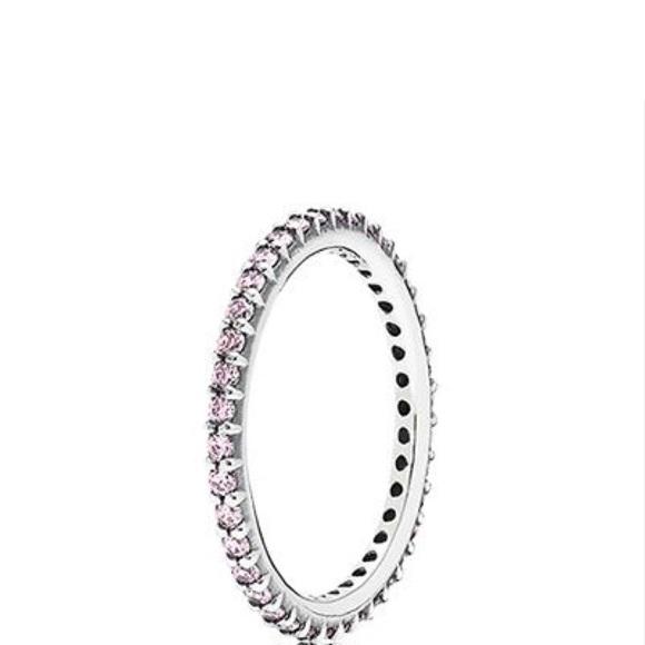 94372bc6ea3b7 Pandora retired stacking ring 52